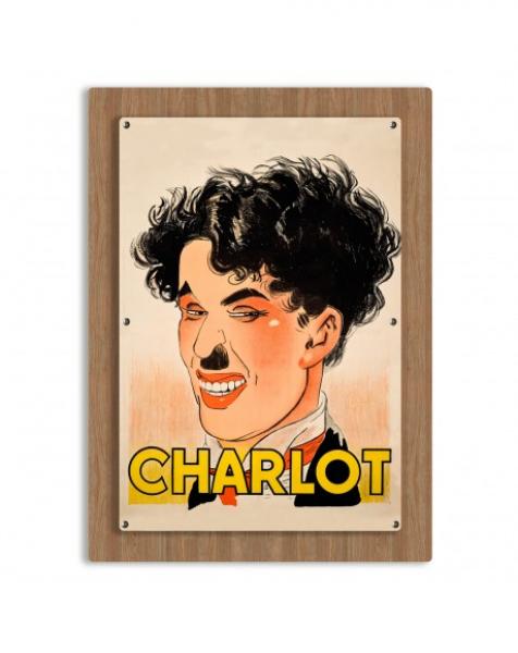 CHARLOT – Quadro in FOREX a doppio pannello