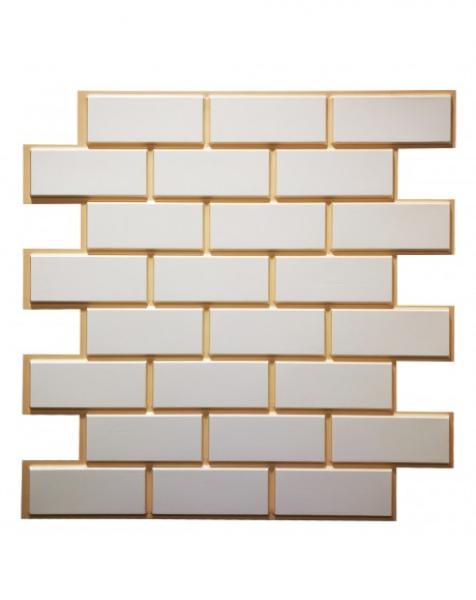 MELROSE – Pannello per parete in PVC a rilievo 3D – 60cmX60cm