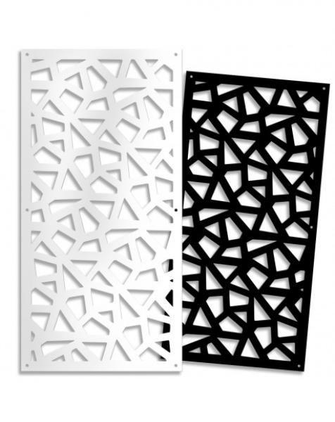 SEGMENTI – Pannello in PVC traforato – Parasole