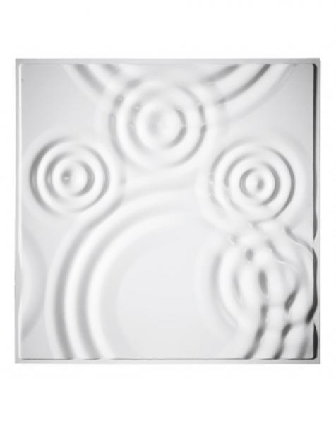RAIN DROPS – Pannello per parete in PVC a rilievo 3D – 59,5cmX59,5cm