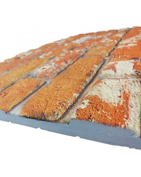 MATTONCINO CLASSIC  pannello finto mattone in EPS Resinato Misura 100×50 Cm spessore 2 cm