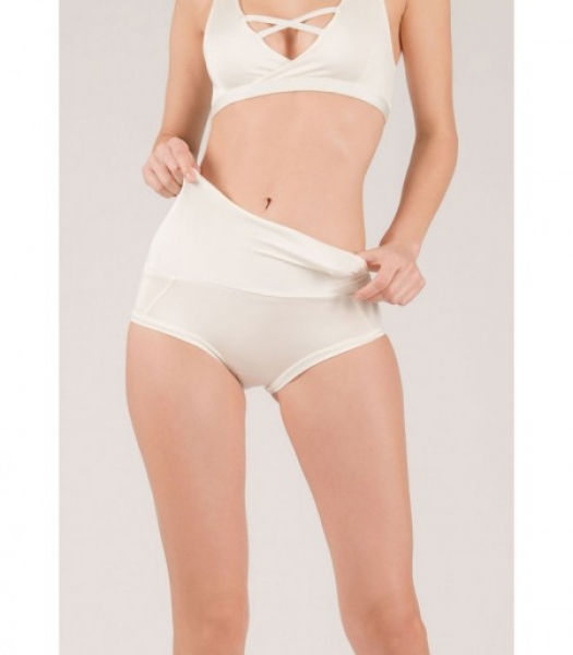 Mademoiselle spin Short EXTENDED Bianco h24
