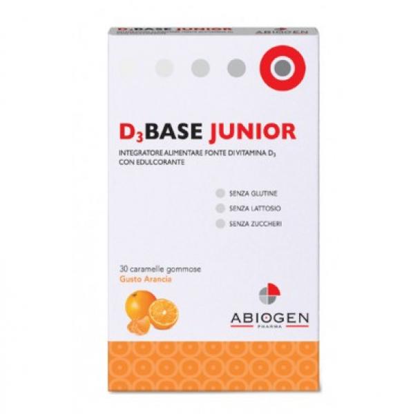D3base Junior 30caram Arancia