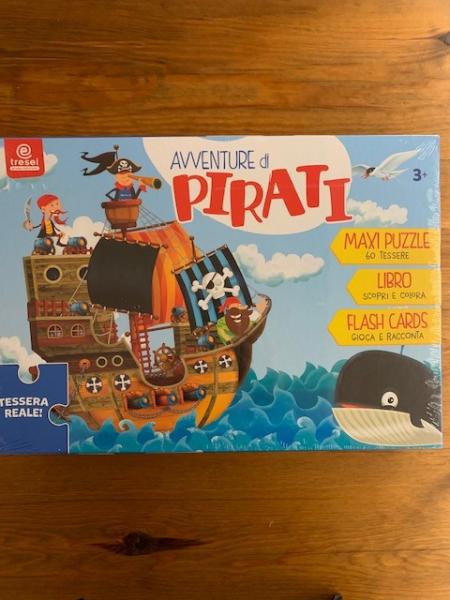 Avventure di pirati – Puzzle e libro