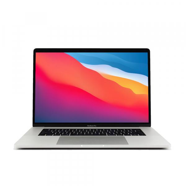 Apple MacBook Pro 15.4″ Retina TouchBar Argento intel® Six-Core i7 2.2GHz 2018 (Ricondizionato) macOS Monterey