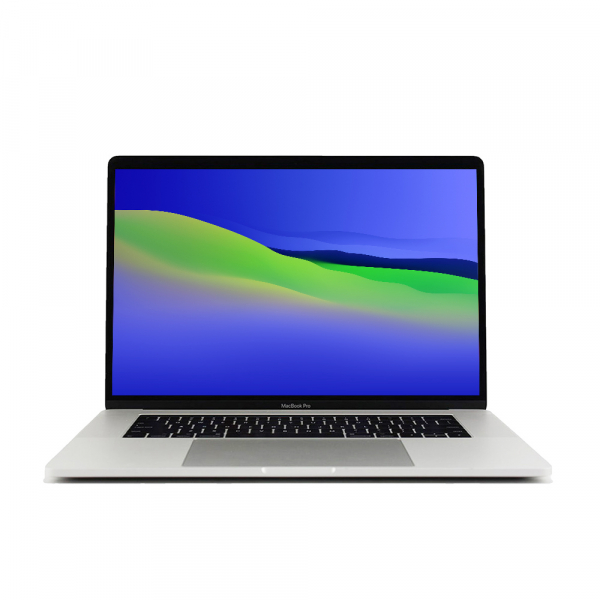 Apple MacBook Pro 15.4″ Retina TouchBar Argento intel® Six-Core i7 2.6GHz 2018 (Ricondizionato) macOS Monterey