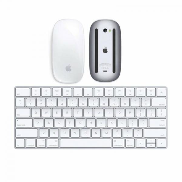 Apple Magic Mouse 2 + Magic Keyboard (2a Generazione) Ricaricabile ITA (Ricondizionato)