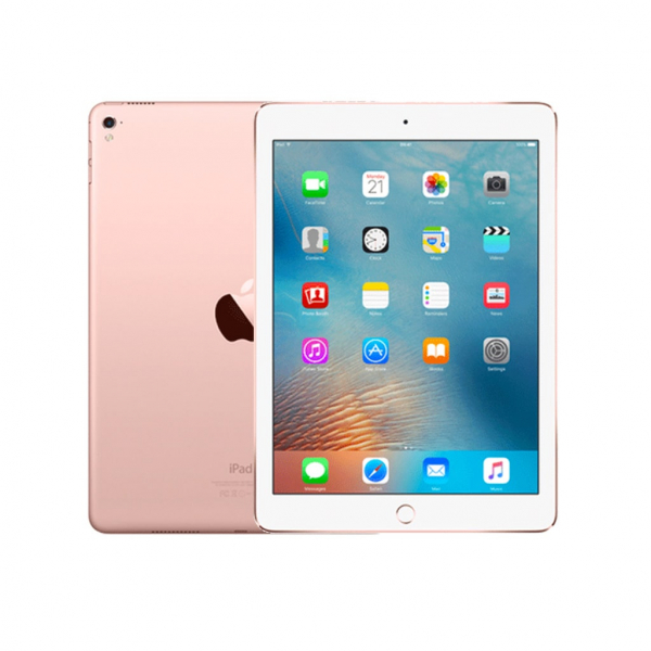 Apple iPad Pro 9.7″ 128 GB (1a gen.) Oro Rosa Versione Wi-Fi + 4G LTE (Ricondizionato) iOS iPadOS 15