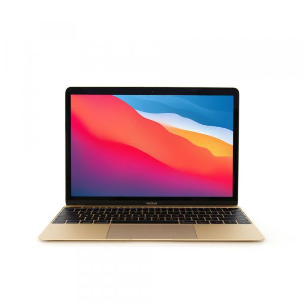 Apple MacBook 12.1″ Retina Oro intel® Core M 1.1GHz Early 2015 (Ricondizionato) MacOS Big Sur