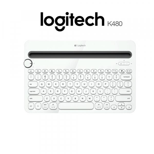 Logitech bluetooth multi-device keyboard K480 con pile (Ricondizionato)
