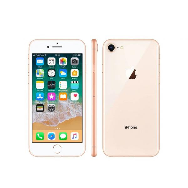 Apple iPhone 8 64 GB Oro 4.7″ Retina HD (Ricondizionato) iOS 15
