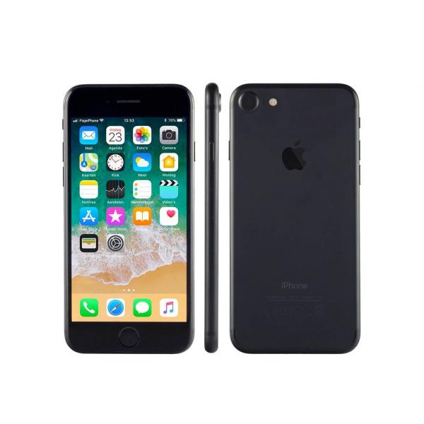 Apple iPhone 7 32 GB Nero Opaco 4.7″ Retina HD (Ricondizionato) iOS 15