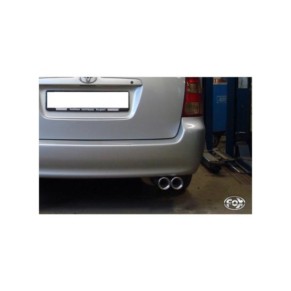 Toyota Corolla E12 Combi silenziatore – 2×80 tipo 13