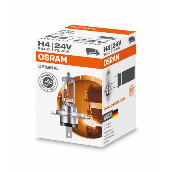 O424V-01B – Halogen OSRAM  64196-01B P43t 24V 75/70W H4