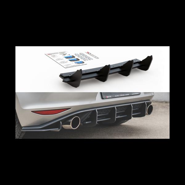 Racing Durability Diffusore posteriore V.1 VW Golf 7 GTI