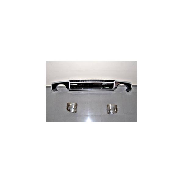 TCA0215-Diffusore Posteriore Audi A3 V8 4 porte (Sedan) 2013-2015 Look